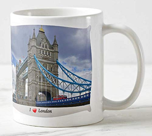 Fotografie Torsten Ackermann Exklusiver Londoner Kaffee-Becher - Motiv: Foto der Tower Bridge in London - Tassen/Bilder / Souvenirs