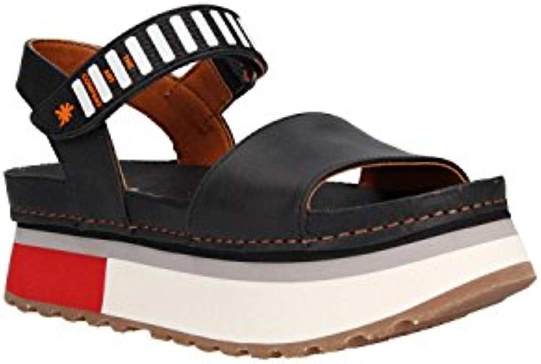 Donna   Uomo Art Sandali Sandali Sandali 1261 Memphis Nero Mykonos Eccellente valore Tocco confortevole Promozione dello shopping | modello di moda  2b4136