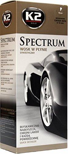 Spectre Vernis vitrificateur Carrosserie Protection Cire de voiture brillant avec chiffon en microfibre
