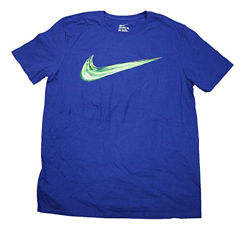 Nike Men's Light up Your Logo Graphic Crew Neck T Shirt 739364-455 (S)