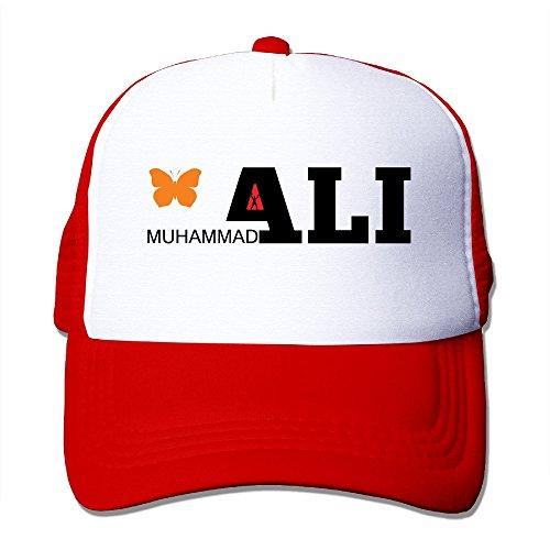 Preisvergleich Produktbild YSC-Dier Custom Casual Snapback Butterfly Logo Trucker Caps Hat Black Red