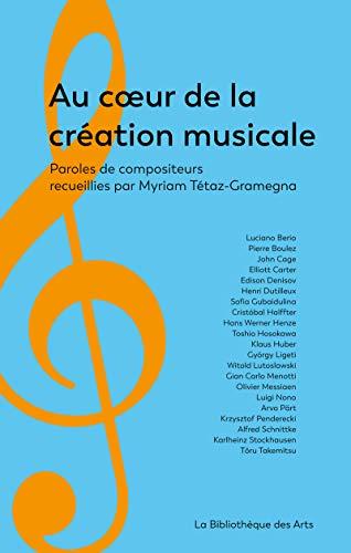 Au coeur de la création musicale par Myriam Tetaz-gramegna