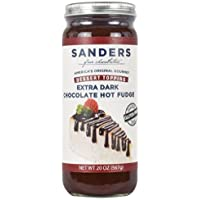 Sanders Topping De Dark Chocolate Fudge Caliente