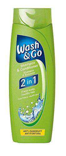 Wash & Go 2in 1Anti-Schuppen-Shampoo Und Pflegespülung X 9Flaschen - 9 Schuppen