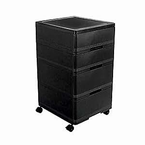Cello Storewell Storage Cabinet (Black)