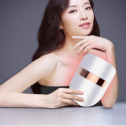 Hautverjüngungsinstrument Schönheitsinstrument, Gesichts- und Hals-Schönheitsausrüstung, Hautverjüngung, Aufhellung, Faltenentfernung, Das Geheimnis einer ewigen Jugend einer Frau (white) - Geheimnisse Aufhellung