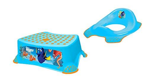 Set da pezzi disney dory blu wc rialzo sgabello imparare ad usare