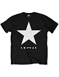 Official David Bowie Blackstar Black T-Shirt (Small)
