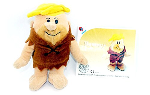 Barney Freunde Und Kostüm - Kinder Überraschung Barney Geröllheimer von den Feuerstein als Plüschfigur
