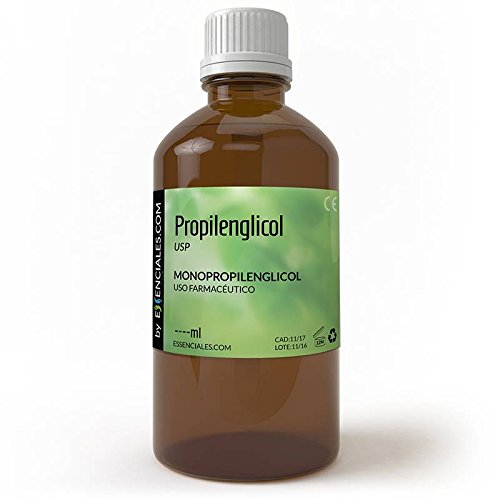 Propilenglicol USP - Pureza Certificada - 500 ml - PG Base (precio: 4,95€)