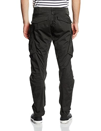 G-Star Rovic Zip 3D Tapered - Pantalon - Tapered - Homme Noir (Raven 976)