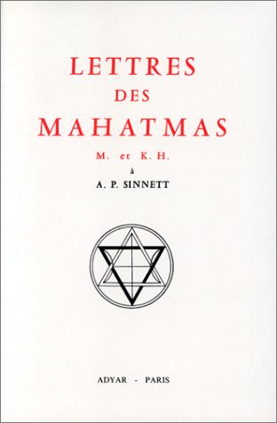 Lettres des Mahatmas par A. T. Barker