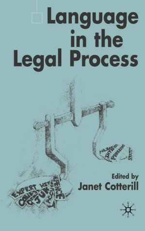 Language in the Legal Process
