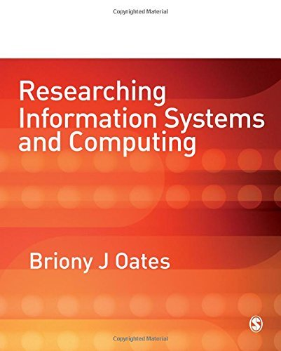 Researching Information Systems and Computing by Briony J. Oates (2005-11-11)