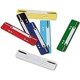 Durable 690100 Heftstreifen Flexi, farbig sortiert, 1 Packung à 250 Stück