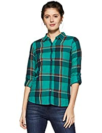 Flying Machine Women's Regular Fit Cotton Shirt