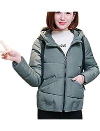 2825448113ccb3 TUDUZ Winterjacke Damen Robuste Mode Winter Warm Mit Kapuze Schlanker Parka  Jacke Mantel