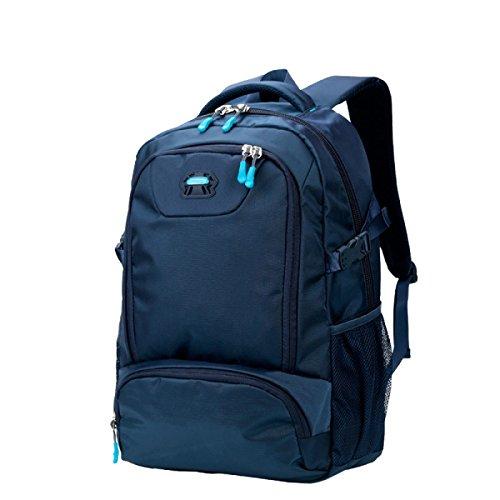 Yy.f Portatile Ad Alta Capacità Zaino Zaini Borse Casual Campeggio Trekking Zaino Multifunzionale. Multicolore Blue