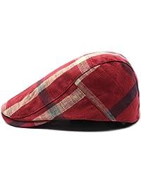 Junebao Invierno Cálido Hats De Al Aire Libre para Hombre y Mujer Moda  Retro Boina Ocasionales ceb8eabe2ae