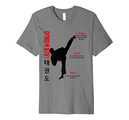 Taekwondo Club (Taekwondo kick T-shirt Technique,Speed,Power)