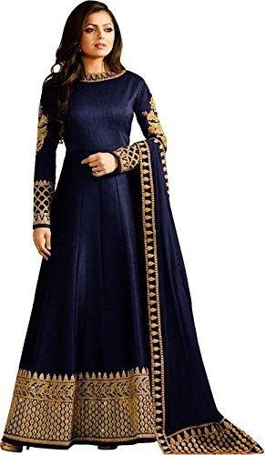 Ghelani Creation Georgette Lehenga Choli (drashti blue nx s2_Beige_Free Size)