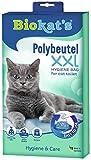 Biokat's - Sacs à litière pour chat -  En polyvinyle et jetables  - Taille XXL - Lot de 12 sacs