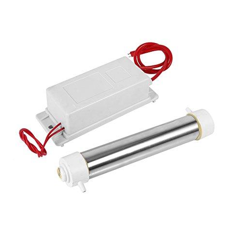 Fdit - Tubo generador de ozono de Cuarzo para purificador de Agua (3 G/HR AC 220 V/35 mm x 195 mm)