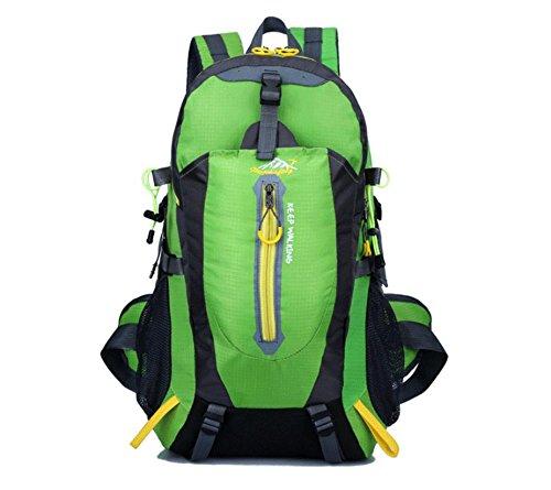 Impianto sportivo polivalente esterno impermeabile Zaini alpinismo all'aperto borsa sport viaggio spalla sport borse , red Green