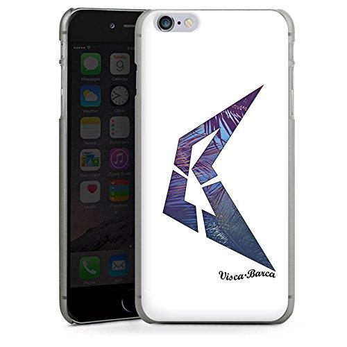 Apple iPhone X Silikon Hülle Case Schutzhülle Visca Barca Fanartikel Merchandise Visca98Barca Youtuber Hard Case anthrazit-klar