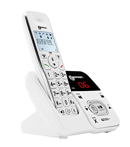 e1fb9601118 Geemarc Amplidect 295 Teléfono Inalámbrico con Contestador Automático  Integrado De Audiencia -.