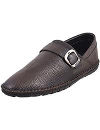 Metro Men Leather Flat Shoes 19-4257