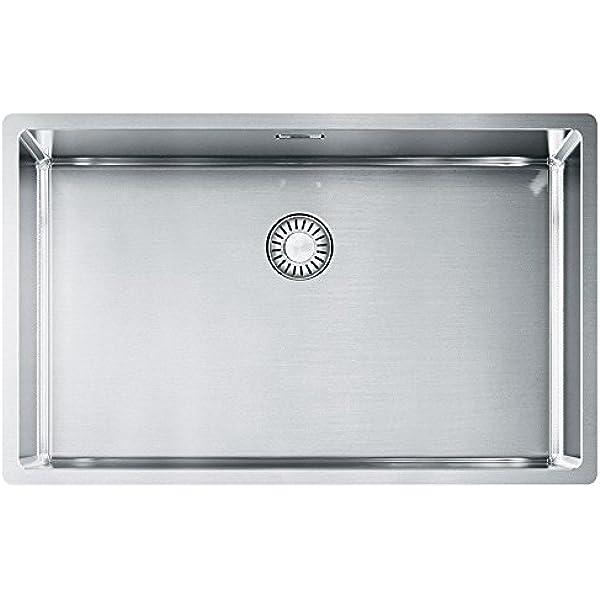 FRANKE MRX 110-50 Maris /Évier de cuisine sous plan en acier inoxydable Gris