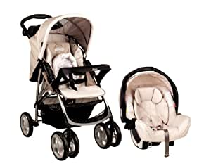 Graco UltimaTravel System, B is for Bear (Beige)