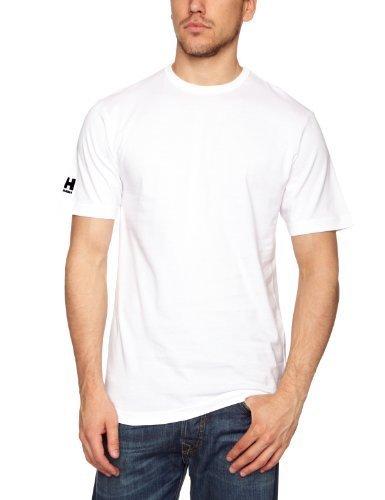 Helly Hansen Crew-Maglietta da ragazzo Blanco (001 White)
