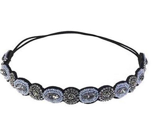 TININNA modo della Boemia elegante strass in rilievo di cristallo elastica fascia del capelli