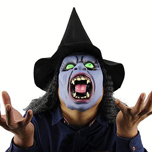 Hexe Reißzähne - Circlefly Reißzähne Horror Maske Halloween Hexe