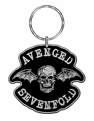 AVENGED SEVENFOLD DEATH BAT Keyring/ Schlüsselanhänger