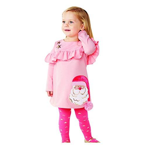 aiyvi Baby Mädchen Bekleidungssets,0-5 Jahre Kleinkind Kinder