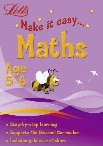Letts Make It Easy - Maths Age 5-6 published by Letts (2008)