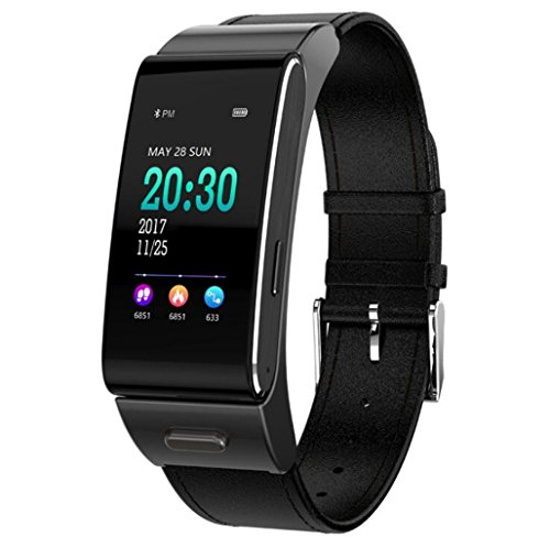 GMM® Smart Bracelet Watch Color Screen Bluetooth Headset Heart Rate Blood Pressure...