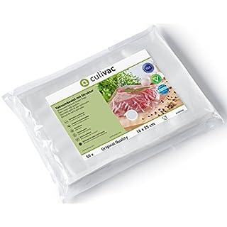 culivac Vacuum Food Sealer Bags Standard 16 x 25 centimetres (B16025S) 50 Bags