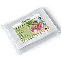 culivac bolsas de plástico para envasar al vacío Standard de 16 x 25 cm, 50