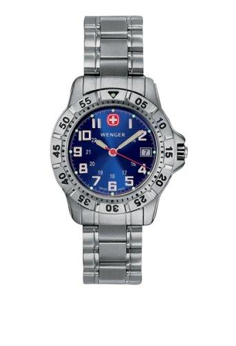 Wenger 72628 - Reloj de Pulsera Mujer, Acero Inoxidable