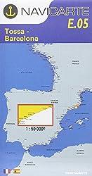 Carte marine : Tossa - Barcelona - Costa Brava (en espagnol)
