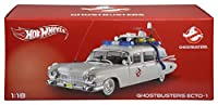 Ghostbusters - Cadillac Ecto 1 Modell HotWheels 1/18