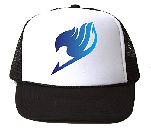 PasTomka Fairy Tail Blue Gradient Baseball Cap Unisex Mütze Kappe One Size