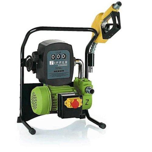 Der Durchfluss Durch Heizung (Diesel- und Ölpumpe ZI-DOP 600 - mit automatischer Abschaltung)