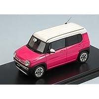 HI STORY MODEL CARS HS085PK SUZUKI HUSTLER X TURBO 2014 PINK/WHITE 1:43