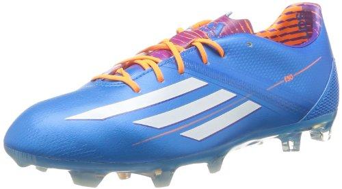 adidas F30 Trx Fg, Chaussures de football homme Bleu (Blesol/Blanc/Solzes)