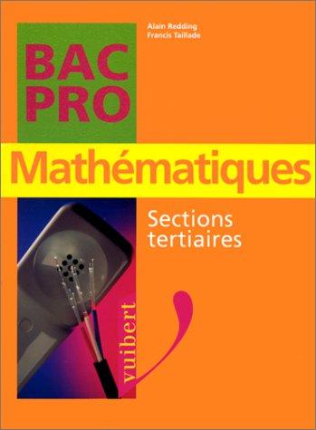 Mathématiques, sections tertiaires